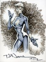 Dazzler 1988 by ToddNauck