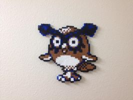 Hoothoot - Fuse Beads by chocovanillite