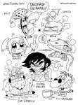 Fav 7 Characters pt1 by PacoAfroMonkey