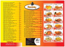 Xi-Hu -Delivery flyer-menu-ins by R1Design
