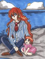 Some Father-Daughter family time by StrawberryLoveAlways