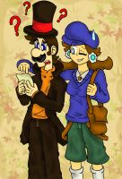 The Mushroom Kingdom puzzlers by HeroInTraining