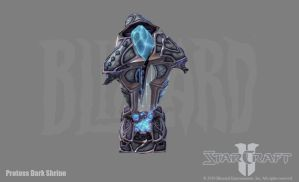 SC2: Protoss Dark Shrine by PhillGonzo