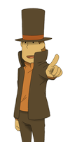 003. Layton by Luphin