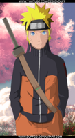 Color Naruto + Speed Art by DuffCD