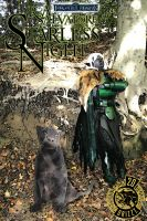 drizzt fantasy cover by LadyTwinkle