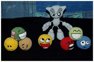 The Crocheted: We Are Family by janey-in-a-bottle