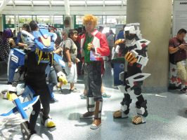 Anime Expo Day 4-  Zoids Team by MidnightLiger0