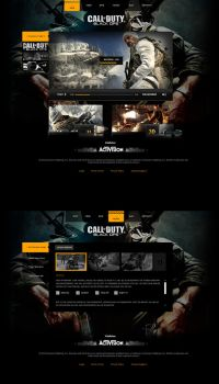 Call of Duty Black Ops Layout by Tropfich