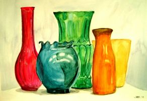 Colourful Glass by kielymb
