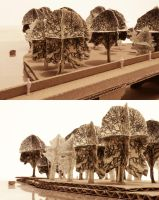 Site Model of Island by chioky