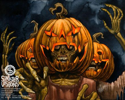 Zomb-O-Lanterns by SavageSinister