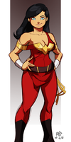 wonder girl by samuraiblack