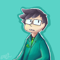 John Egbert by capnscar
