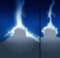 LIGHTNING BRAIN WAVE by nighthawk101stock