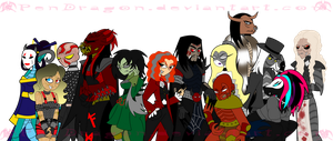 LORDI: One Big Monstrous Family by KPenDragon