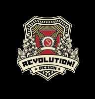 Revolution Design Logo by sebakd
