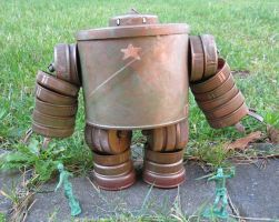 assemblage forest robot by rupertvalero