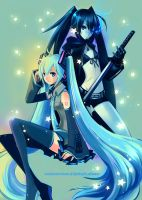 Miku and BRS by ZiyoLing