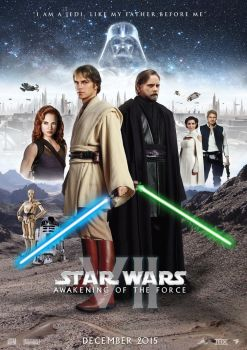 Star Wars Episode VII Teaser Poster by nei1b