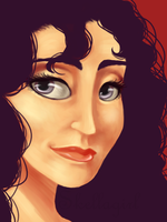 Mama Gothel by Skellagirl