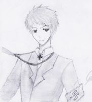 APH - Prussia Sketch :'D by LunarLandings