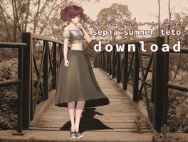 260 Watcher's Gift - Sepia Summer Teto DOWNLOAD by joseph-esapa