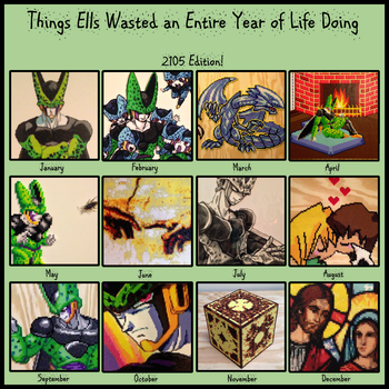 Beadwork Year in Review 2015 by Ellsworth-Toohey