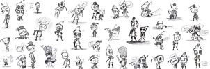 Sketches of DOOM by Celebi9