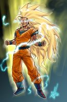 Super Saiyan 3 Goku by scottssketches