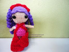Lalaloopsy-inspired Crochet Doll 2 by azirahl
