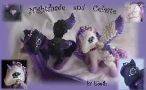 Nightshade and Celeste by Ebethalan