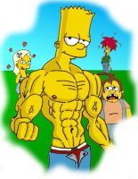 buff Bart by CuttyBay