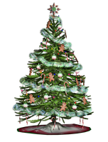 Christmas Tree 2 PNG Stock by Roys-Art