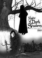 Night of Dark Shadows Poster by lady-de-macabre