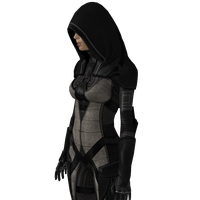 Female assassin render by VIOLET-2010