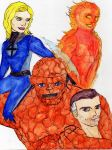 Fantastic Four by CristianGarro
