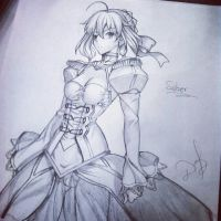 Saber 1 by ilovetheanime