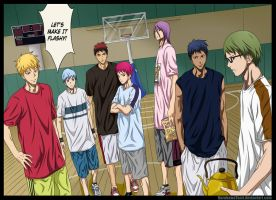 [KnB Extra Game Ch 1] Team Vorpal Swords by KurokawaTami