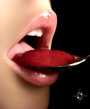 Cherry compote by dark-bishonours