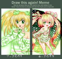 Draw it again meme by Tonowa