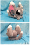 Minccino Plush by GlacideaDay