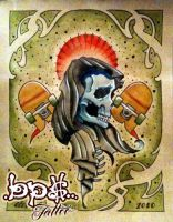 death of skate by BPS-TATTOO
