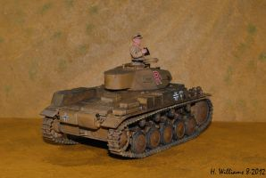 Panzer II G Rear by 12jack12