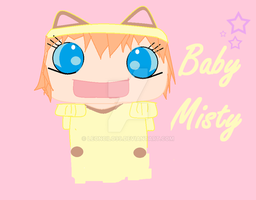 Baby Misty cospaly meowth by leoncilo99