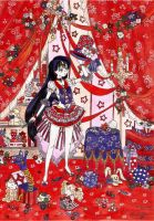 Sailor Mars - Young wizard by LadyFabler
