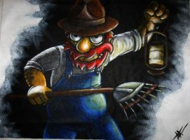 groundskeeper willie by that-car-bloke