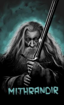 Gandalf from LOtR by mndls