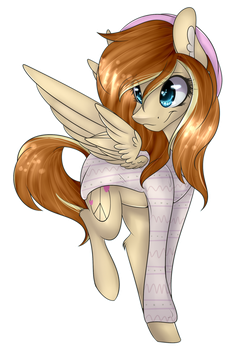 Art Trade with ClayPony by BlazingCookie717