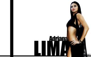 Adriana Lima black and white by Greenso